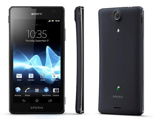 Sony Xperia GX con Android