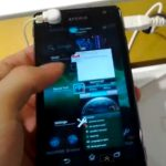 Sony Xperia GX versión Global en video?