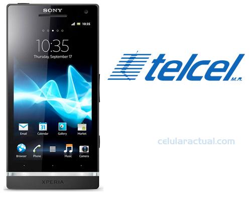 Sony Xperia S en Telcel México