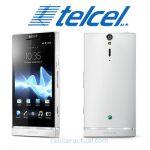 Sony Xperia S blanco ya en Telcel