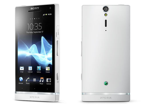 Sony Xperia S color blanco