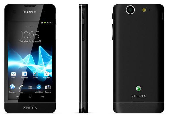 Sony Xperia SX con Android Ice Cream Sandwich