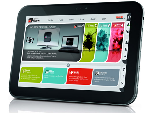 Toshiba AT300 con Android ICS presentada oficialmente