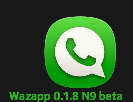 Wazapp el WhatsApp para Nokia N9 ya disponible