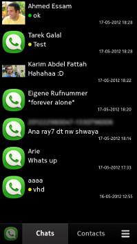 Wazap el WhatsApp para Nokia N9 con MeeGo