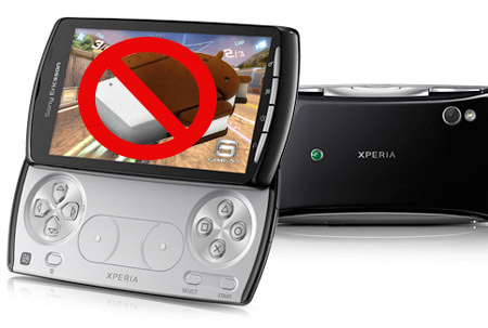 Xperia Play no recibirá Android Ice Cream Sandwich