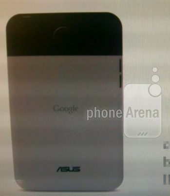 Google Asus Nexus Tablet con Android 4.1 en fotos de prensa rumor