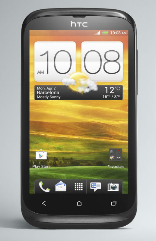 HTC Desire V un Android ICS de doble SIM es anunciado