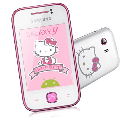 Samsung Galaxy Y Hello Kitty ya en México con Telcel