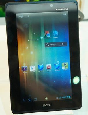 Acer presenta su Iconia Tab A110 y A210, con Android ICS y Quad-core Tegra 3