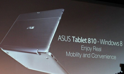 Asus presenta Tablet 810 y Talbet 600 con Windows 8