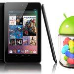 Google Nexus 7 y Android 4.1 Jelly Bean presentados oficialmente