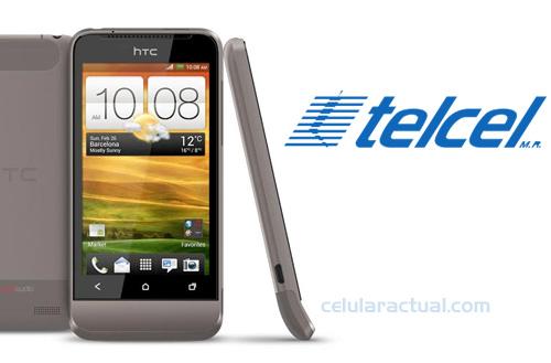 HTC One V llega a México con Telcel