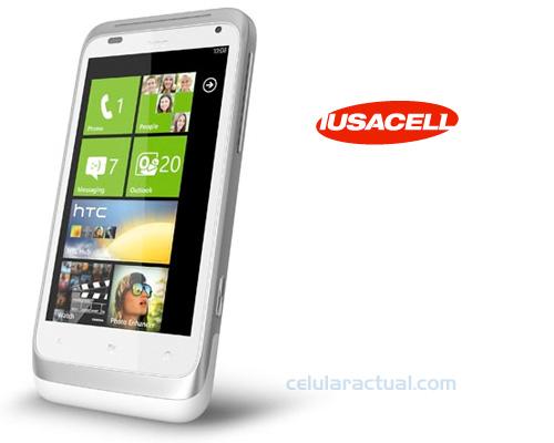 HTC Radar en Iusacell México