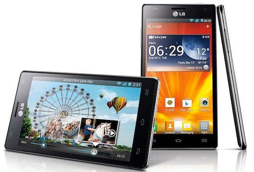 LG Optimus 4X HD en México