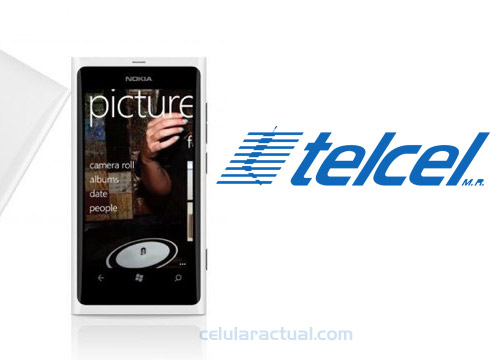 Nokia Lumia 800 en color blanco ya en Telcel