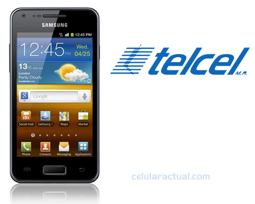 Samsung Galaxy S Advance ya en México con Telcel
