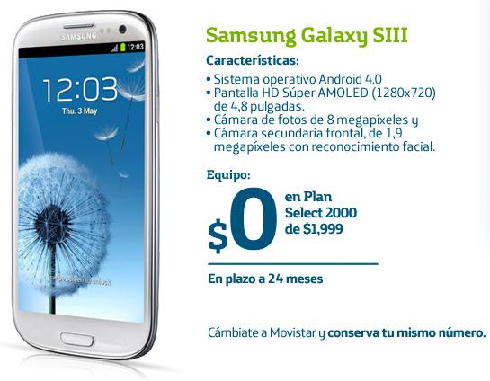 Samsung Galaxy S III en Movistar México