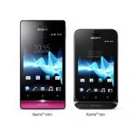 Sony presenta Xperia miro y Xperia tipo