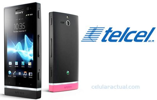 Sony Xperia u en México con Telcel