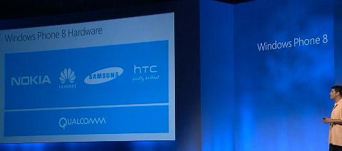 Nokia, Samsung, Huawei y HTC los primeros Windows Phone 8
