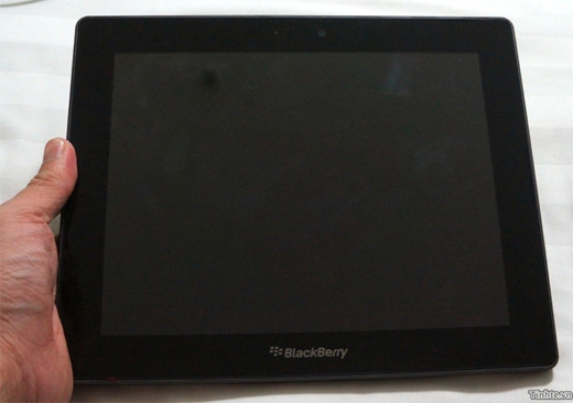 PlayBook 4G de 10 pulgadas se filtran fotos