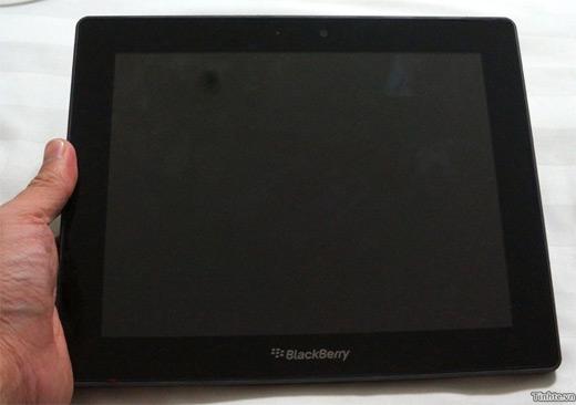PlayBook 4G de 10 pulgadas se filtran fotos