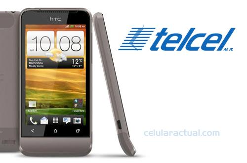 HTC One V ya en México con Telcel