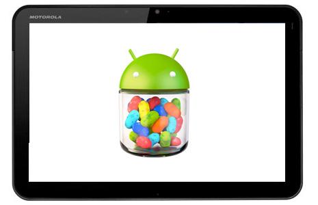 Motorola Xoom actualización a Android Jelly Bean pronto