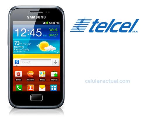 Samsung Galaxy Ace 2 Plus S7500 en México con Telcel