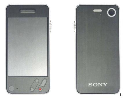 Sony diseño Concepto Apple iphone