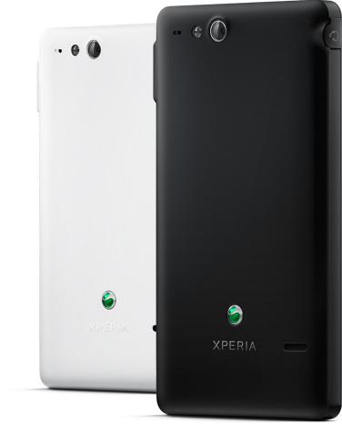 Sony Xperia go resistente al agua y polvo