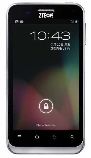 ZTE N880E con Android 4.1 Jelly Bean