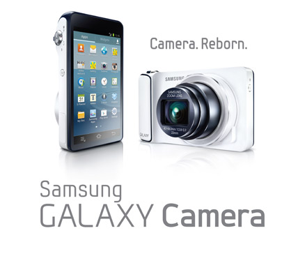 Samsung Galaxy Camera con Android Jelly Bean 4.1