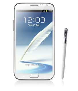 Samsung Galaxy Note II con Android 4.1 Jelly Bean