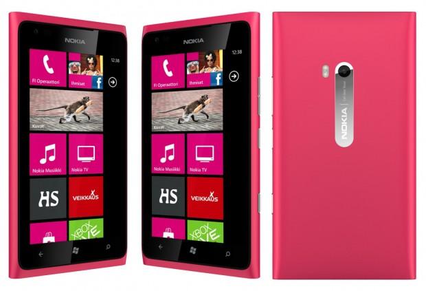 Nokia Lumia 900 en Telcel México color rosa