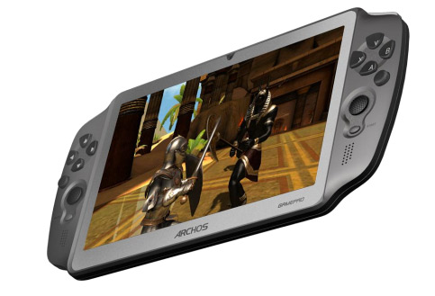 Archos GamePad una tablet para gaming Android Ice Cream Sandwich