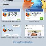 Firefox para Android con nueva pantalla de inicio y grandes mejoras