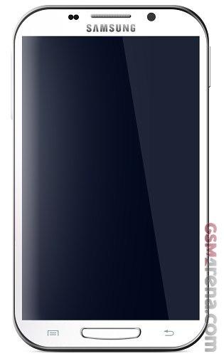 Foto oficial del Samsung Galaxy Note II N7100