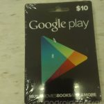 Google Play Store ya prepara sus Gift Cards se filtran fotos