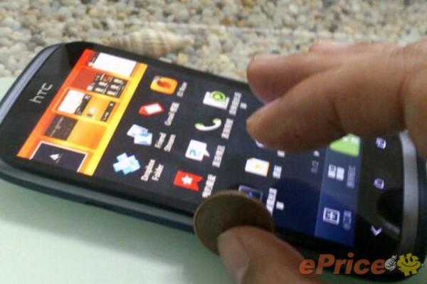HTC Desire X pantalla