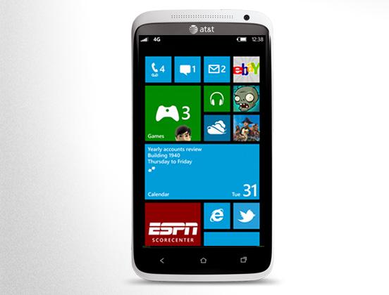 HTC con Windows Phone 8