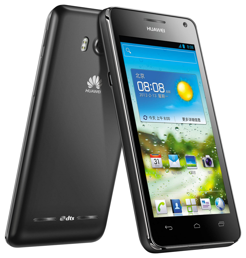 Huawei Ascend G600 negro