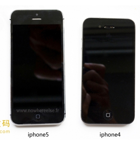 El iPhone 5 completo ensamblado y comparado iPhone 4
