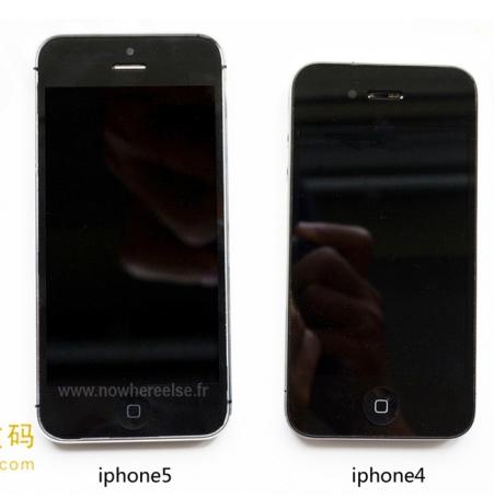 El iPhone 5 completo ensamblado y comparado iPhone 4