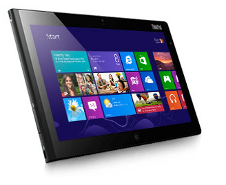 Lenovo ThinkPad Tablet 2 con Windows 8