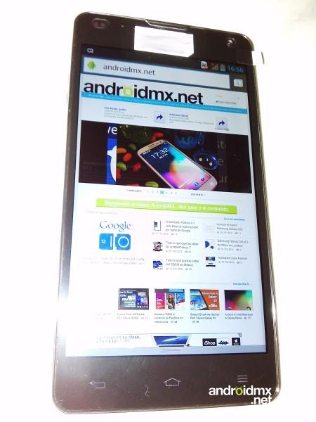 LG Optimus G filtrado en vivo