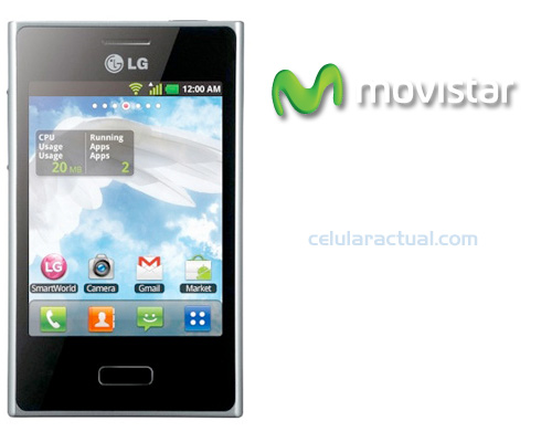 LG Optimus L3 en Movistar México