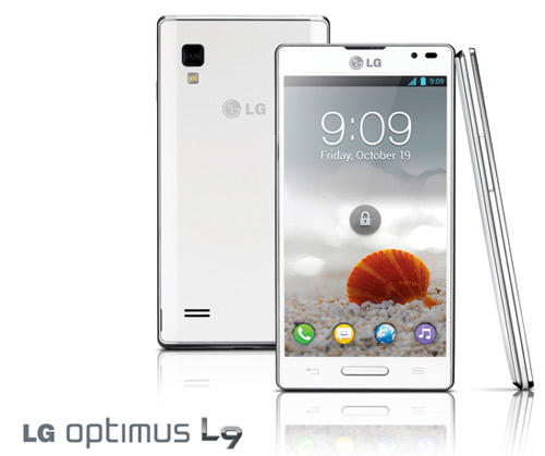 LG Optimus L9 4.7 pulgadas en pantalla y Android 4.0 Ice Cream Sandwich