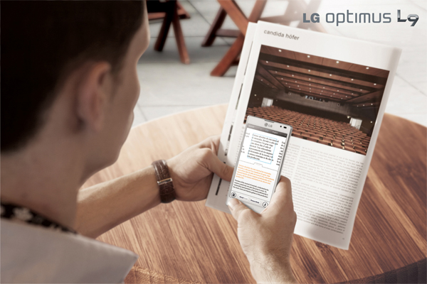 LG Optimus L9, 4.7 pulgadas en pantalla y Android 4.0 Ice Cream Sandwich
